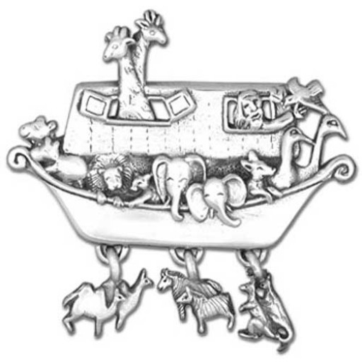 Noah's Ark Brooch