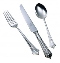 Childrens Silver Plated Cutlery Set Albany Handle