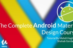 The Complete Android Material Design Course Download Free