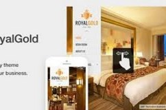 RoyalGold v1.4.4 – A Luxury & Responsive Hotel or Resort Theme