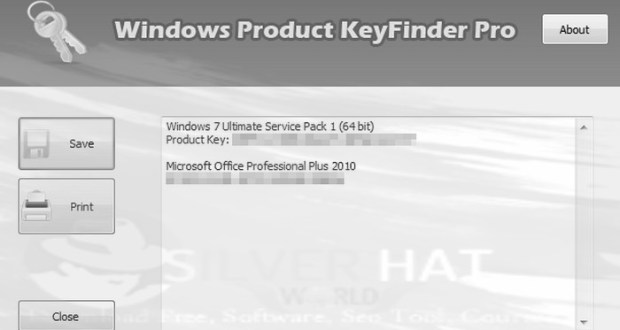 Download Windows Product Key Finder Pro Free