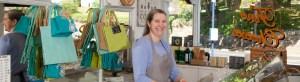 Debbie Broadhurst at Silver Hill larder