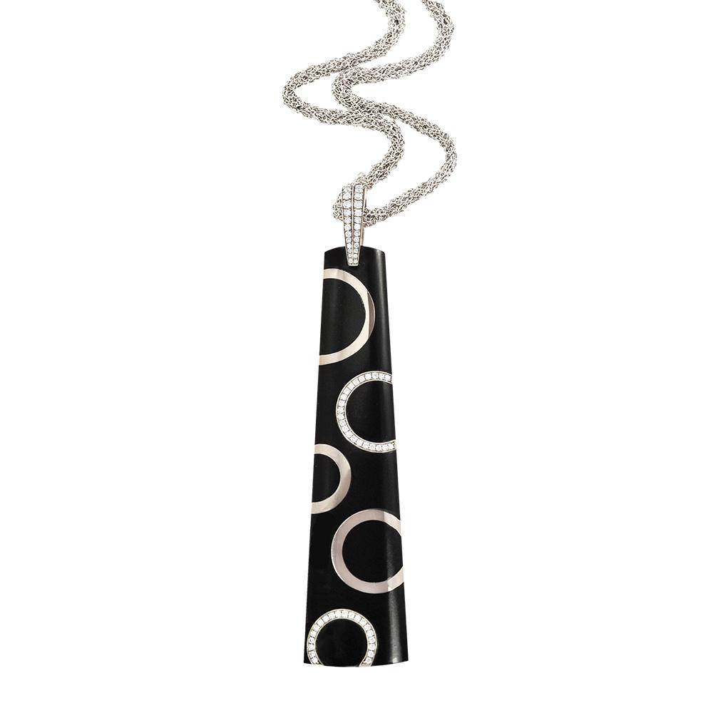 Black jade circle pendant silverhorn jewelers santa barbara black jade circle pendant mozeypictures Gallery