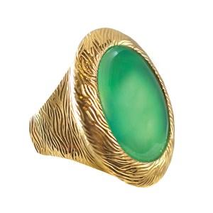 green-chrysoprase-ring