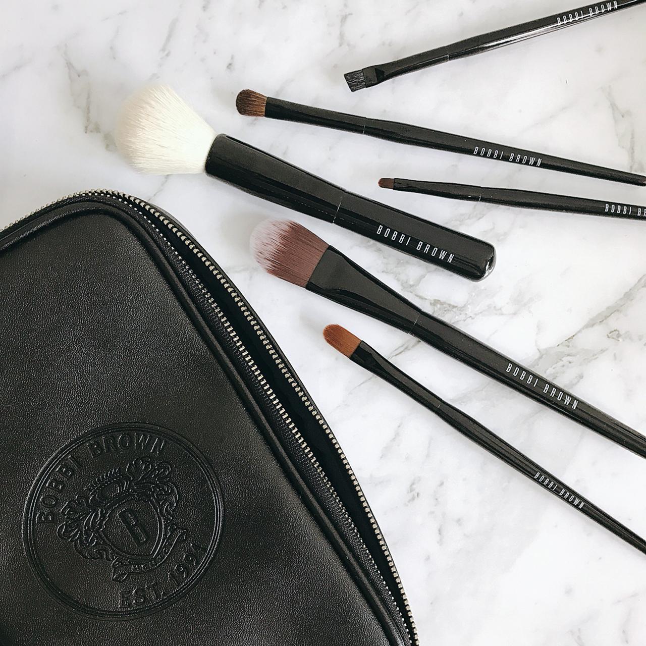 Bobbi Brown travel makeup brush set