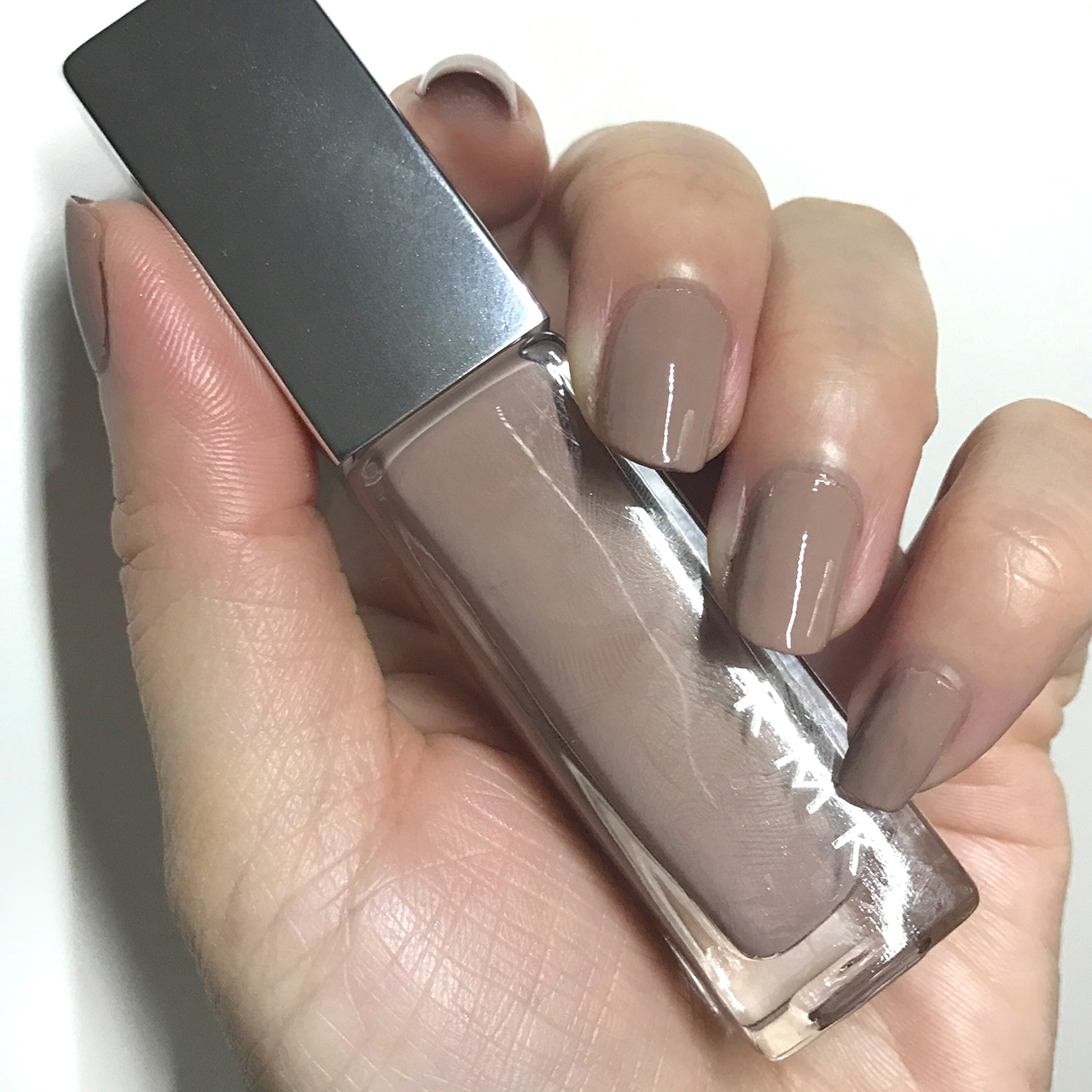 RMK Nail Polish 04(CL) Antique Beige nail swatch