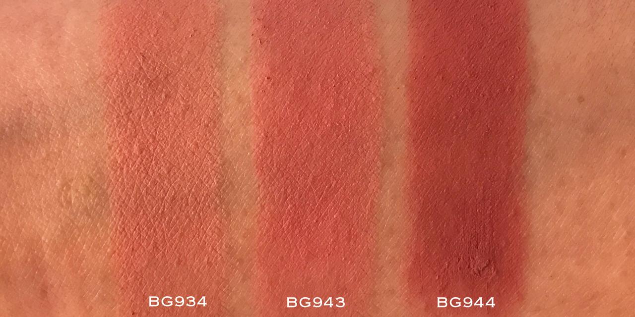 Shu Uemura Rouge Unlimited Supreme Matte - BG swatches