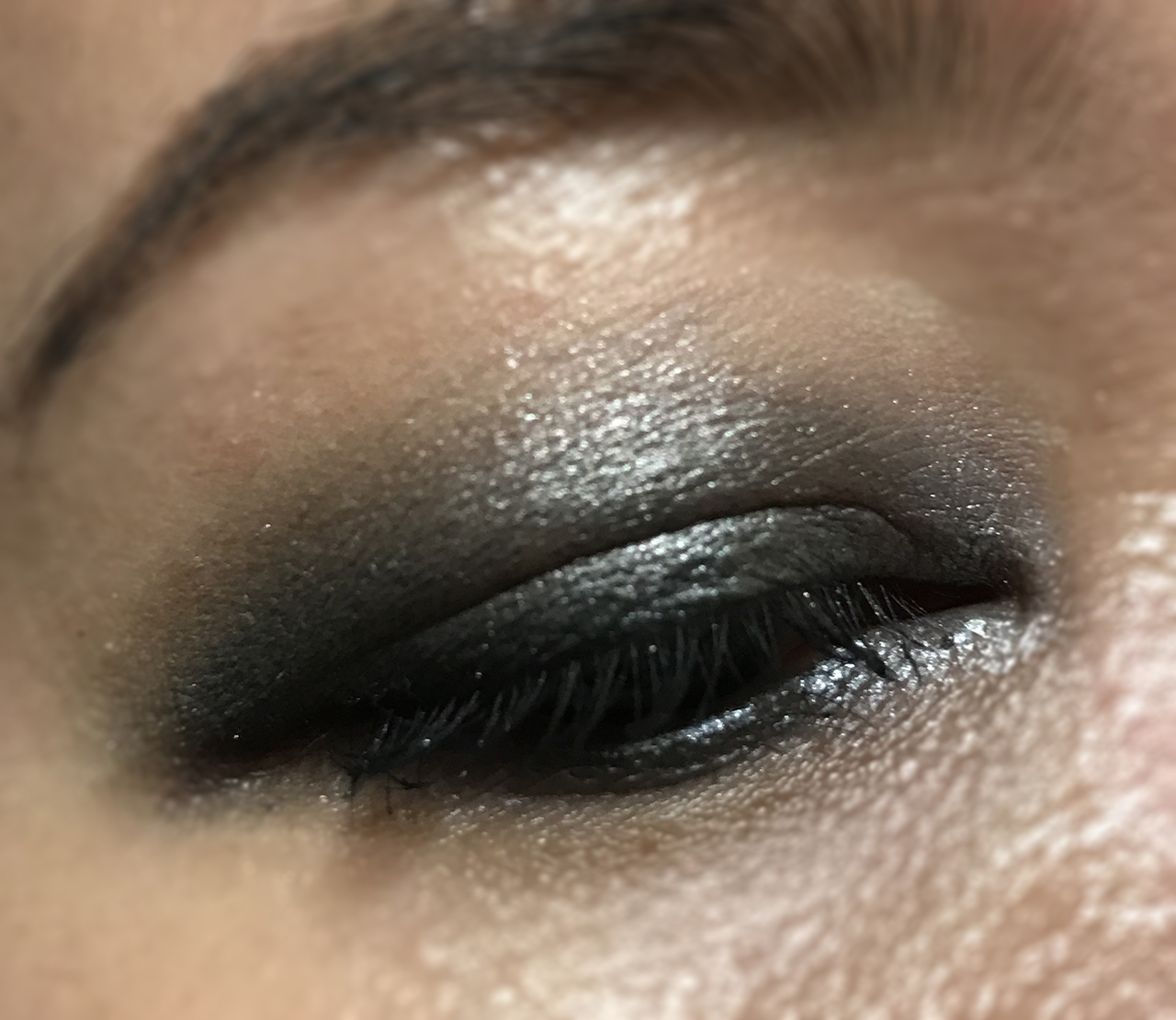 YSL Eye Duo Smoker Smokey Grey eye look