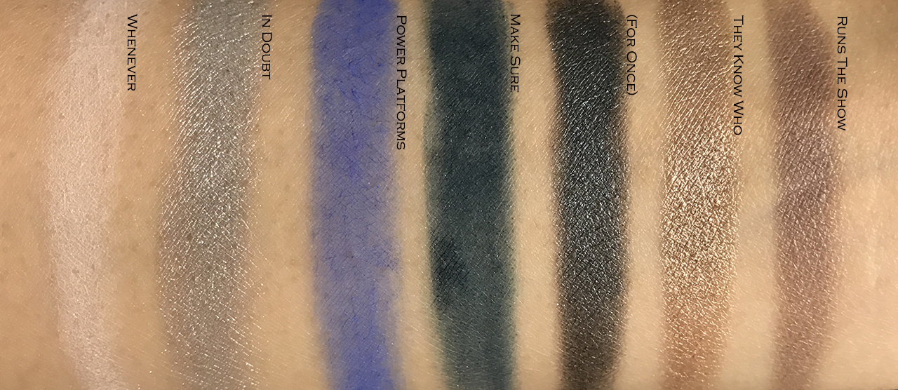 Marc Jacobs Eye-conic Multi-finish Eye Palette Smartorial swatches