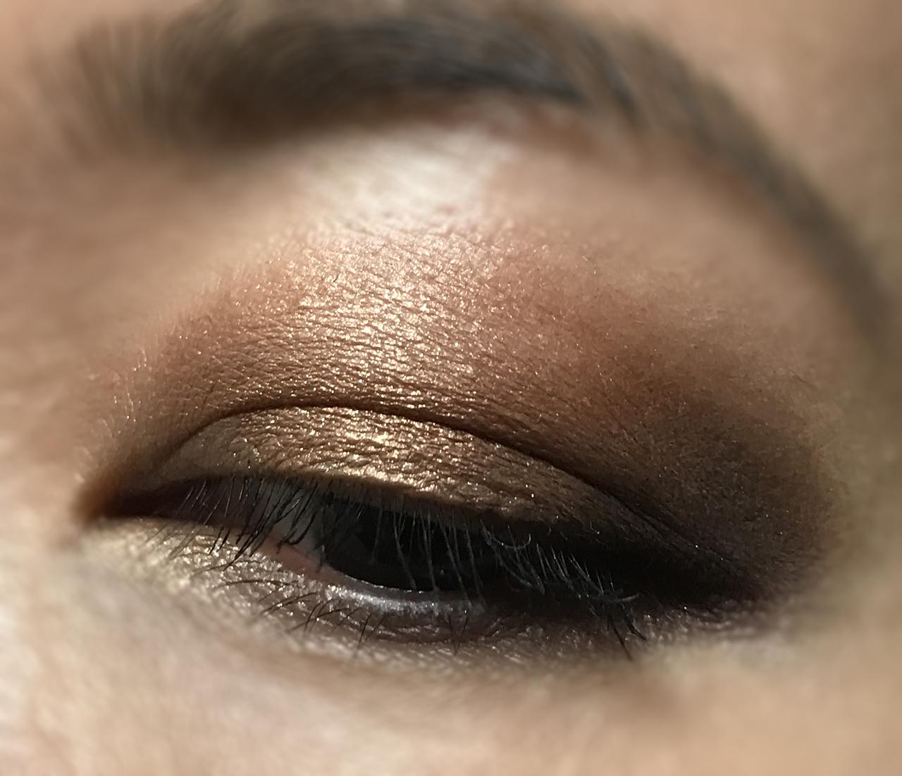 SUQQU Designing Color Eyes 110 eye makeup look