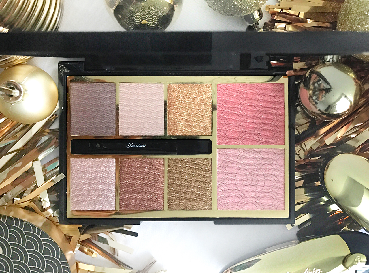 Guerlain Gold Palette for Holiday 2017