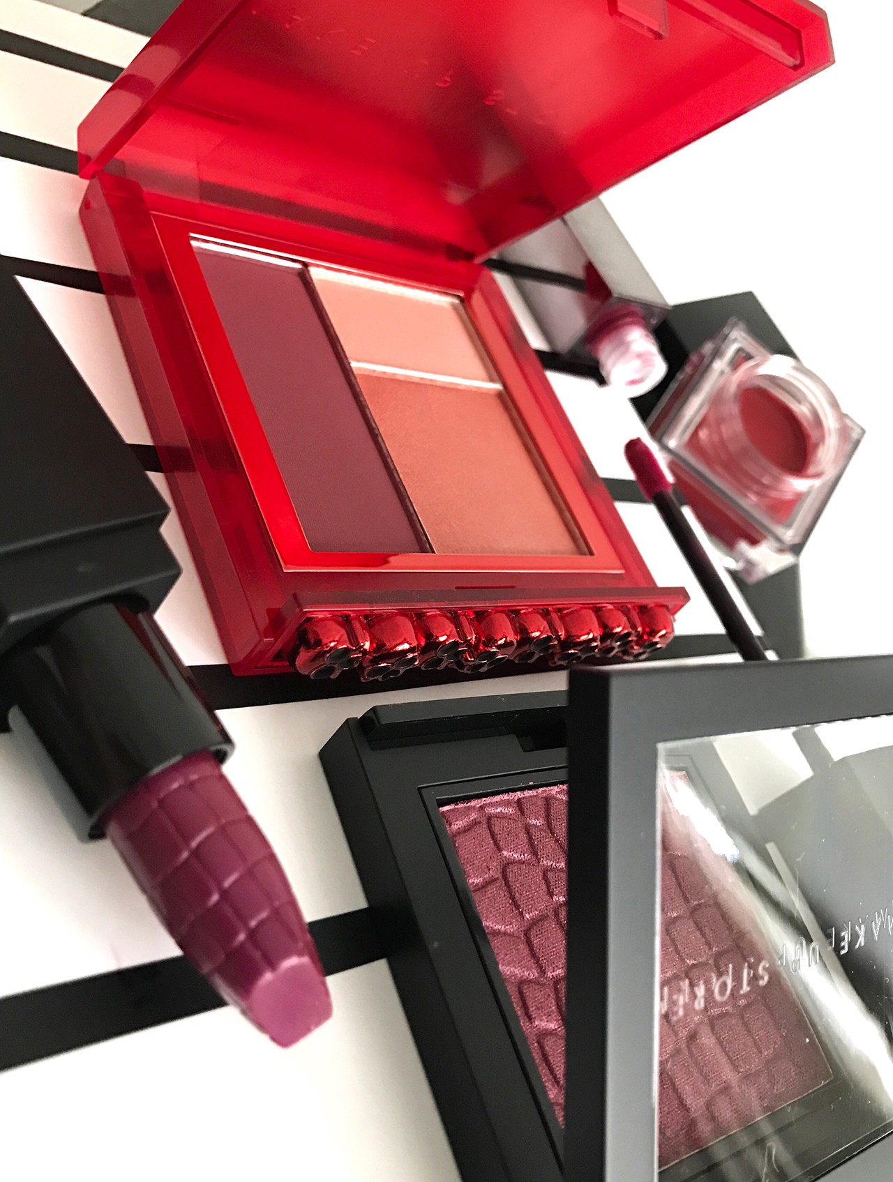 Make Up Store Shade Collection Red for Winter 2017