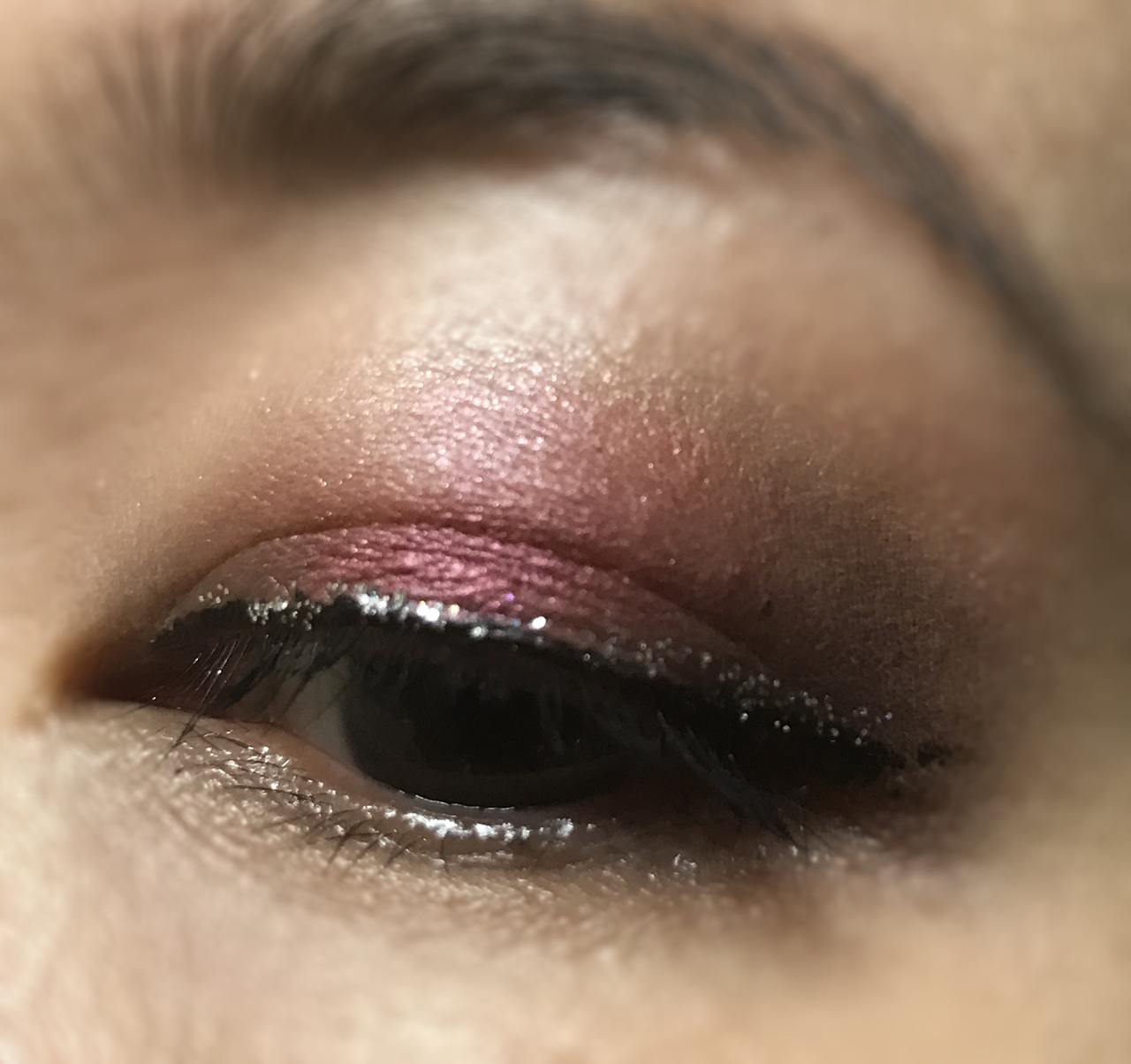 Make Up Store Winter 2017 eotd