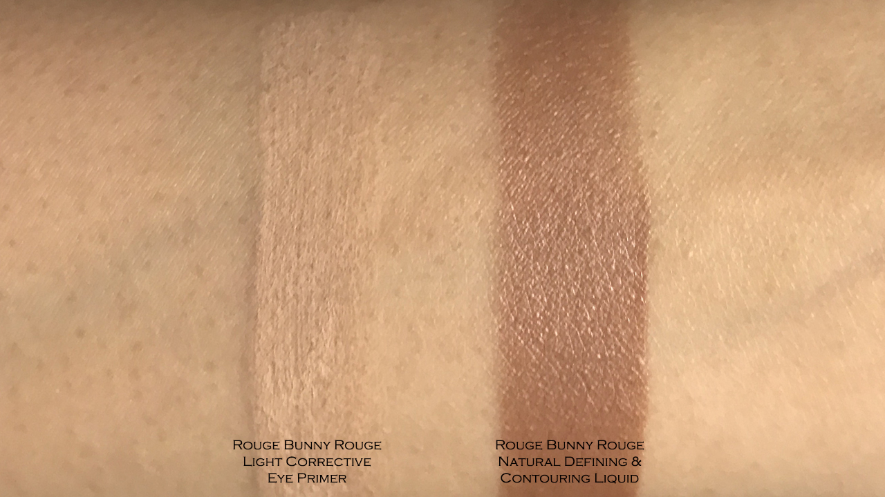 Rouge Bunny Rouge Eye Primer & Contouring Liquid swatches
