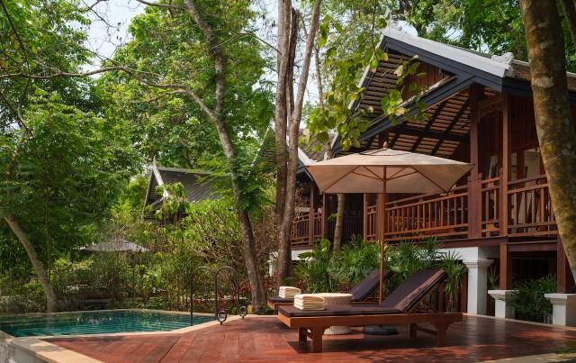 Rosewood Luang Prabang Waterfall_Pool_Villa_Terrace_004