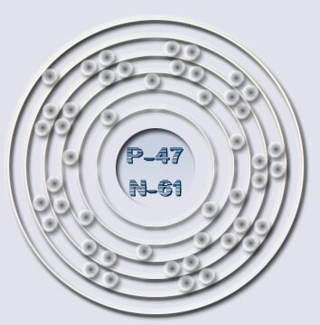 Silver Bohr Diagram