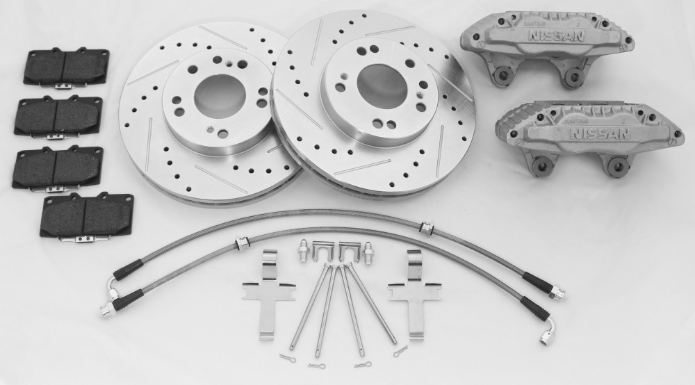 medium resolution of 240sx front brake upgrade kit