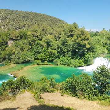 Chorwacja z dziećmi: Park Narodowy Krka
