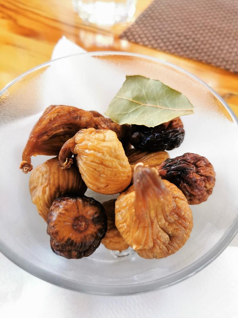 Jedzenie w Chorwacji - suszone figi