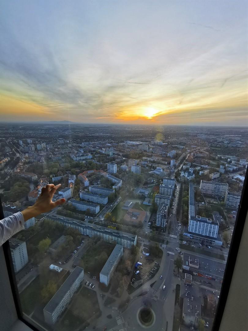 Sky Tower, taras widokowy