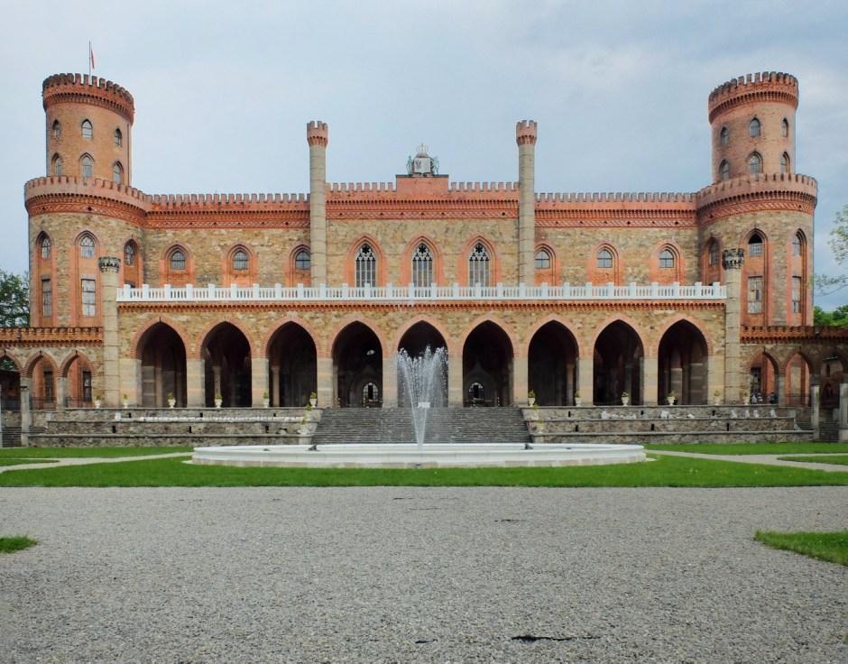 SilverMint blog pałac Kamieniec Ząbkowicki