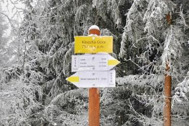 Zimowe szlaki w Sudetach: Kłodzka Góra – Góry Bardzkie