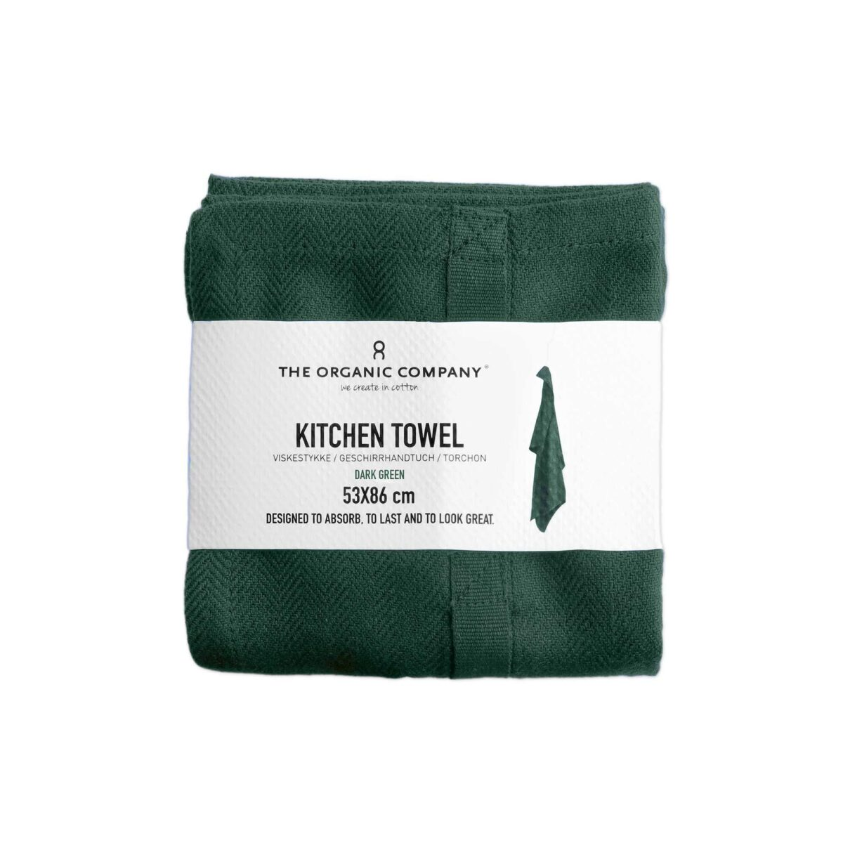 green kitchen towels chinese cabinets the organic company dark towel silver mushroom