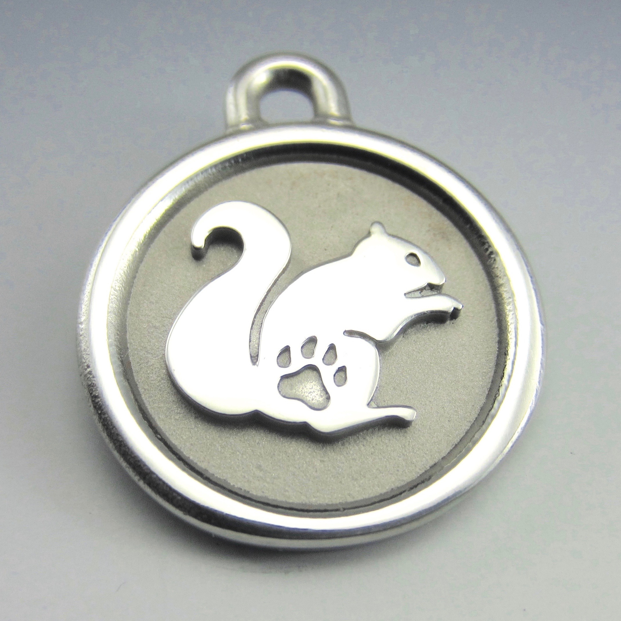 stainless steel pet id
