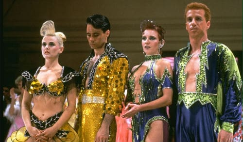 strictly ballroom film review Review: strictly ballroom musical loses special to the globe and mail baz luhrmann's 1992 cult-classic film strictly ballroom starts with this ugly.
