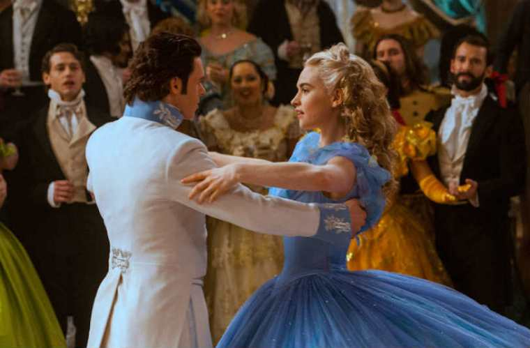 Cinderella Ball Dance (Lily James and Richard Madden) Disney