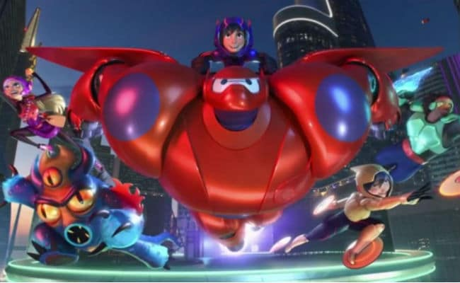 The Team-Big Hero 6 Photo: Disney