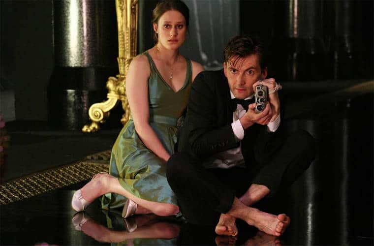 David Tennant in Hamlet (2009). Photo: BBC