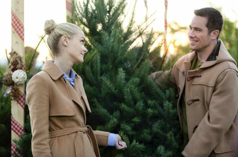 Hallmark Christmas Movie With Time Travelling Woman