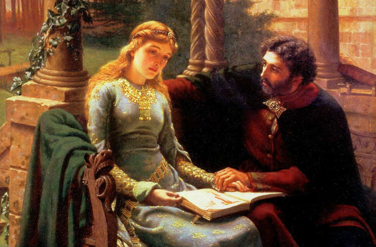 Edmund_Blair_Leighton_-_Abelard_and_his_Pupil_Heloise FEATURED