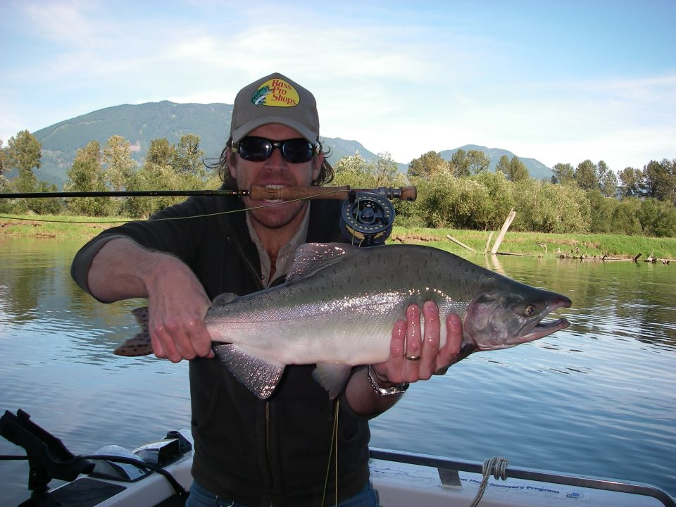 Guided fly fishing vancouver fraser river valley bc for Kings river fishing