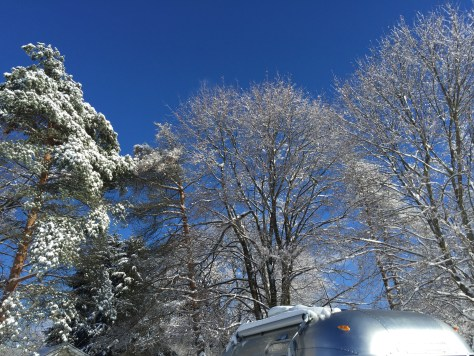 Airstream, winter