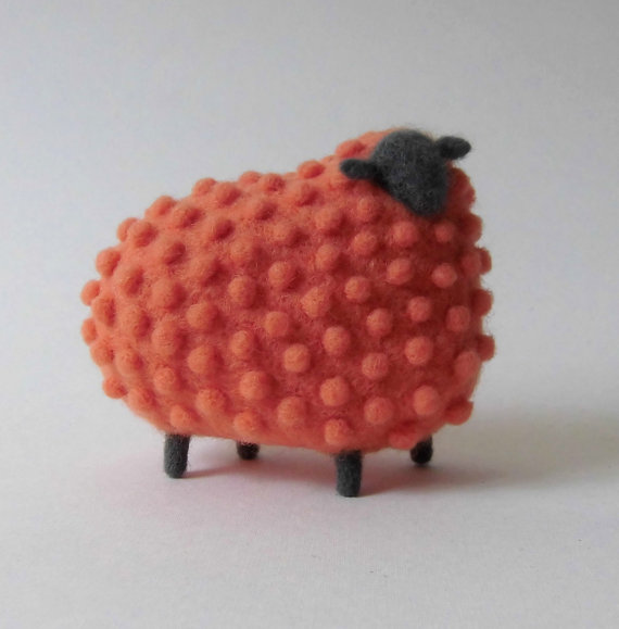 Wool Sculpture Sheep