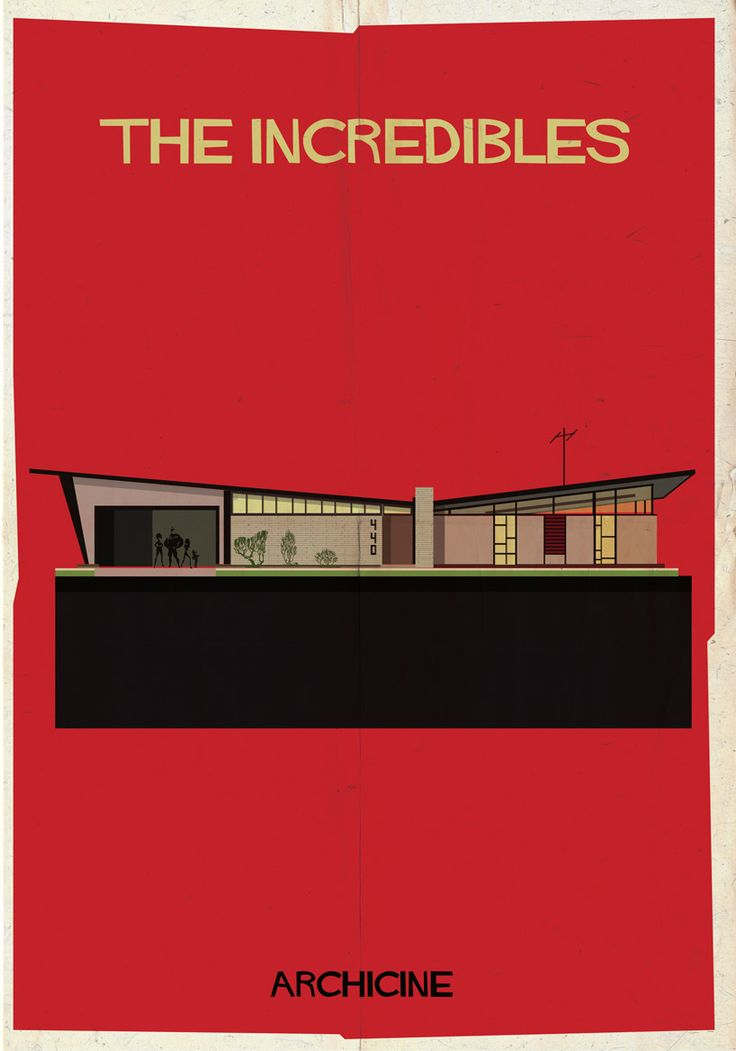 The Incredibles, illustrated by federico babina