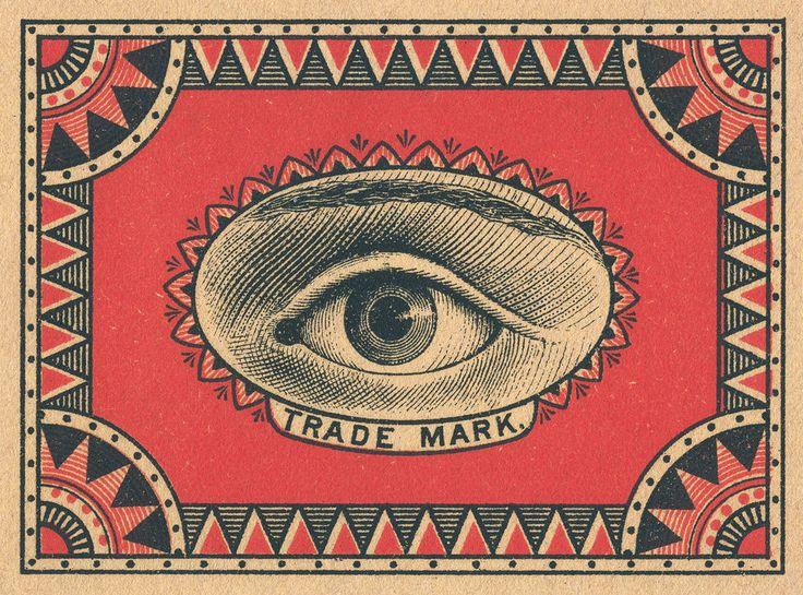 Eye Matchbook Cover