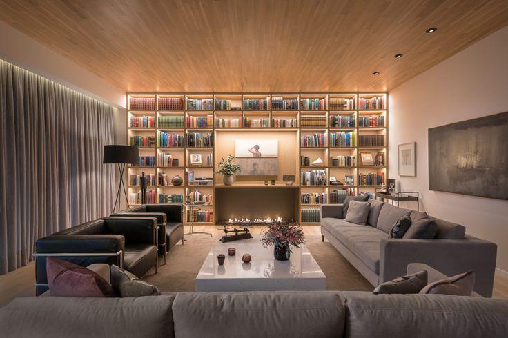 Lit Bookcases 1 - Casa H – Weber Arquitectos