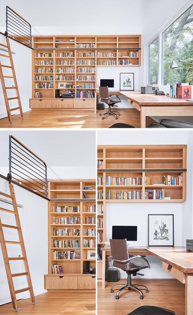 This Home Office Has A Loft Bedroom So It Can Also Be Used As A Guest Suite