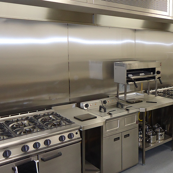 commercial kitchens island table for small kitchen silver star metal fabricating backsplashes