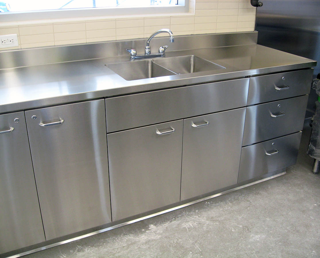 Stainless Steel Cabinets  Base Cabinets  Silver Star Metal Fabricating