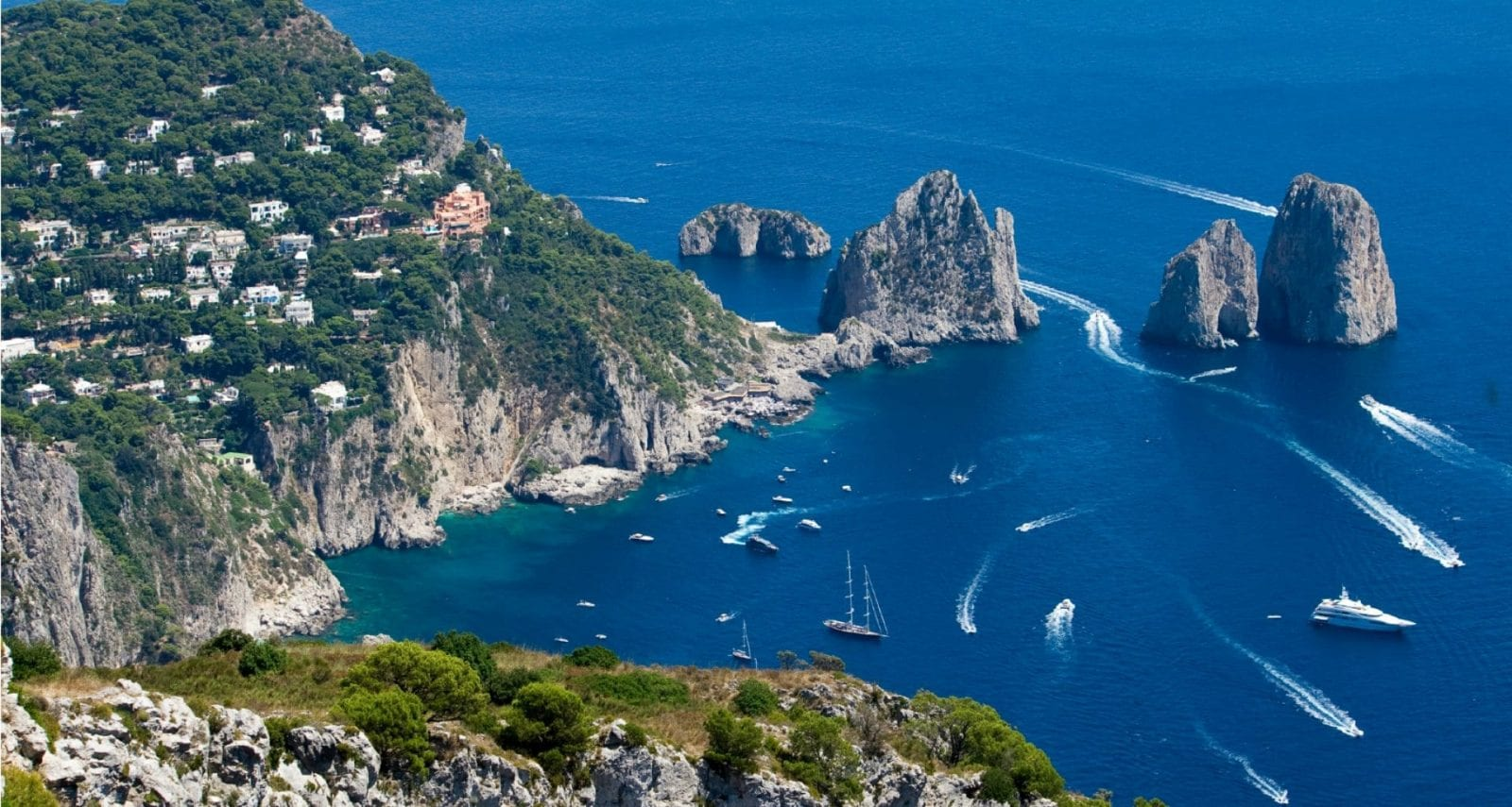Pontine Islands Yacht Charter Silver Star Yachting