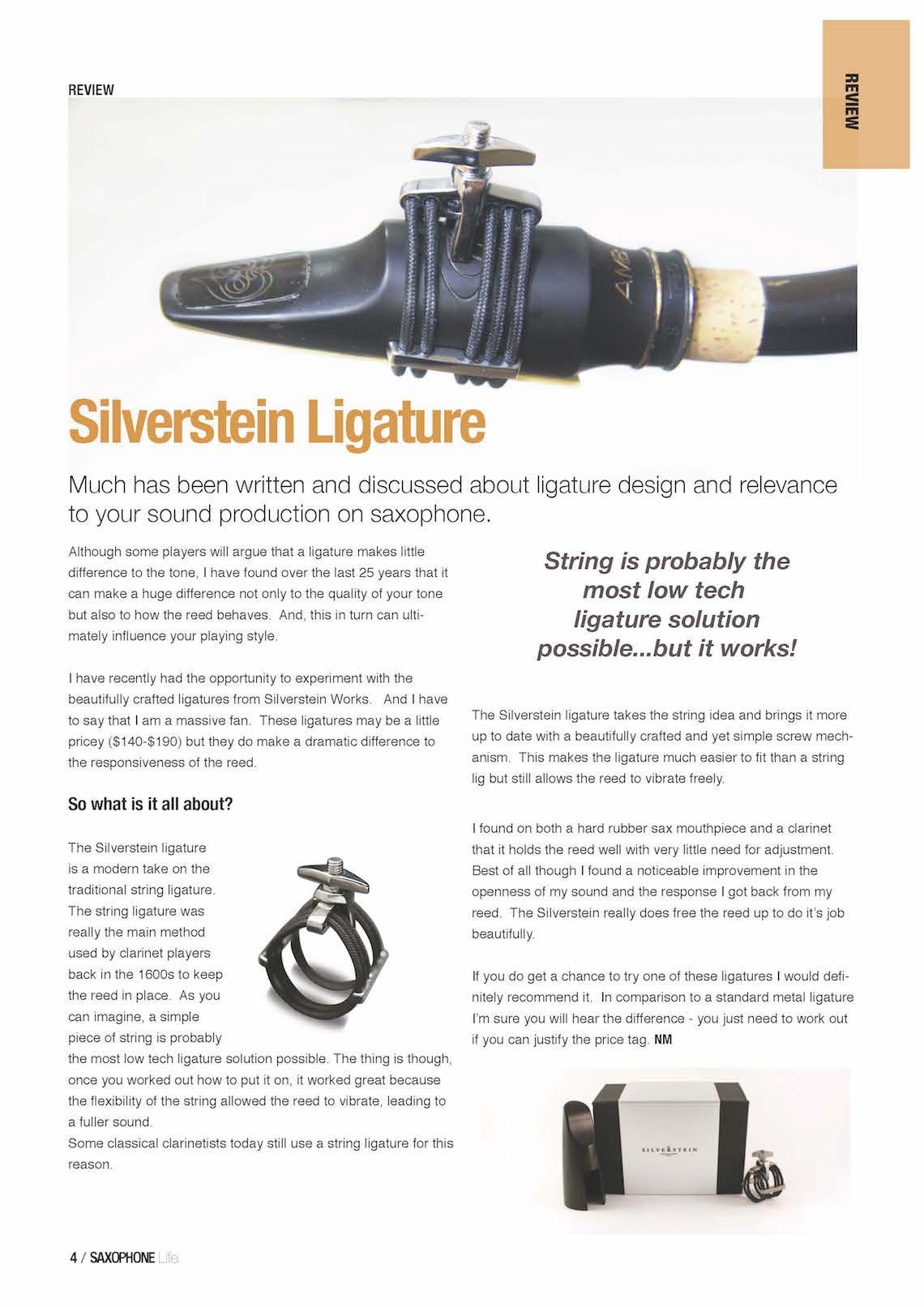 Saxophone Life Feb 2015 - Silverstein Works_Page_2