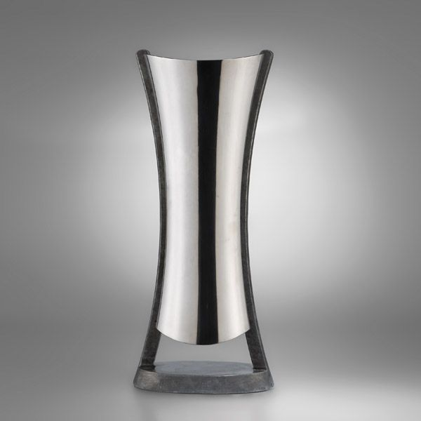 Nambe Anvil Metal Alloy Vases  Silver Superstore