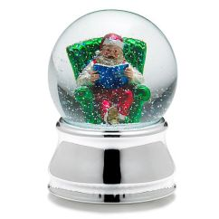 Barton Chair Accessories Bath For Disabled Child Towle Musical Santa Silver Water Globe | Superstore