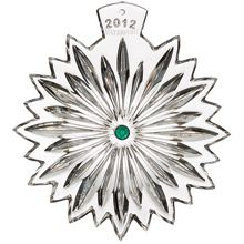 2012 Waterford Snowflake Wishes Courage Crystal Ornament Silver Superstore