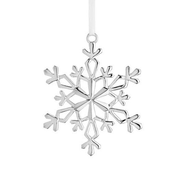 Silver Christmas Ornament