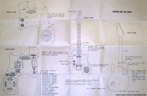 small resolution of silver tone guitar wiring wiring diagrams one silver tone guitar wiring